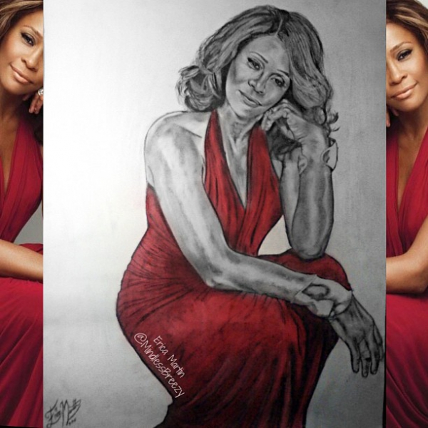 Whitney Houston by EricaMartin